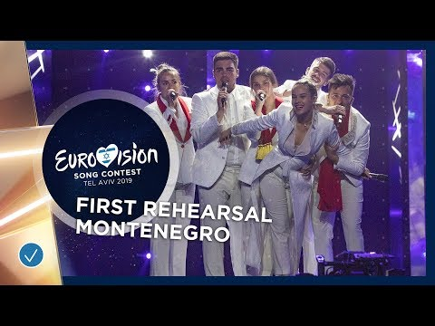 Montenegro 🇲🇪 - D Mol - Heaven - First Rehearsal - Eurovision 2019