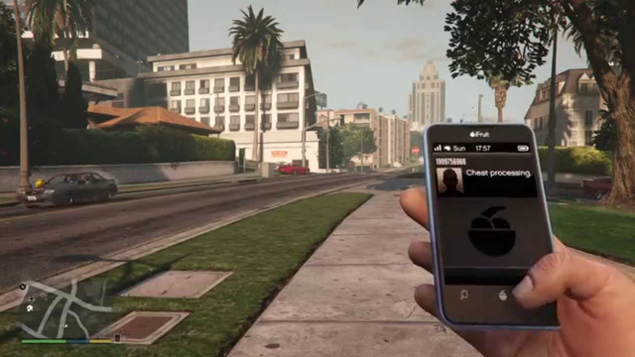 GTA 5 Slow Motion Cell phone cheat code PS4 amp XBOX ONE