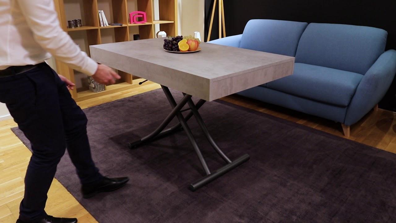 Grand #Laminuteconvertible Ep. 20: MELANGE   Table Basse Relevable | La Maison Du  Convertible