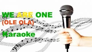 Pitbull - We Are One (Ole Ola) [The Official 2014 FIFA World Cup Song] (Karaoke Version)