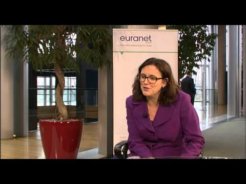 Euranet Plus Interview with Cecilia Malmström