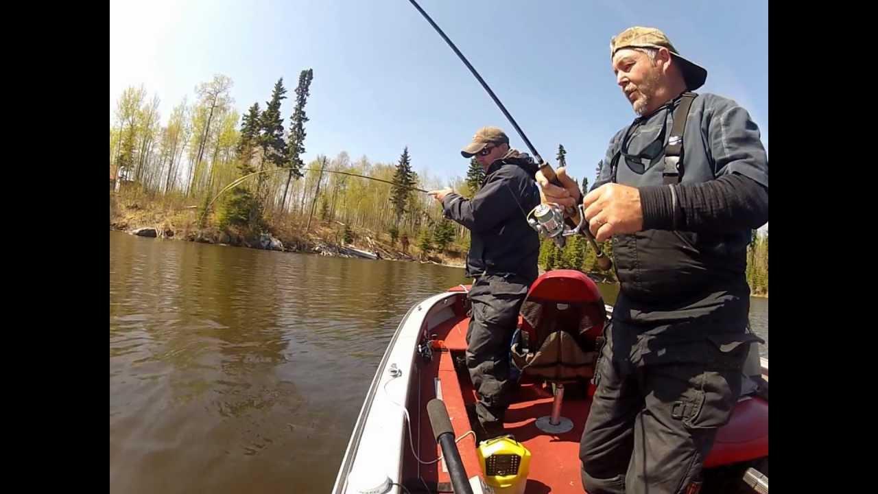 Fishing black bear lodge red lake ontario canada may 2012 for Red lake ontario fishing