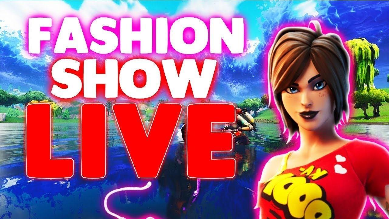 Fortnite Custom Matchmaking Live Hosting Real Fortnite Fashion Show Live Custom Matchmaking Solo Duo Squad Fortnite Live Host Ware