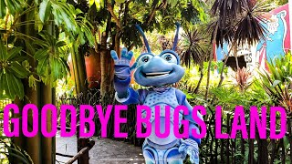 Disneyland Resort   LAST LOOK at Bugs Land & More!