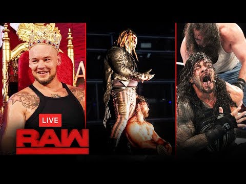 🔴 Live - WWE Raw 16 September 2019 | Fiend Vs Rollins, Roman Reigns, Highlights Today
