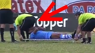 Funny Football Stretchers Moments Football Doctors Videos
