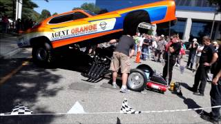 Dead Mans Curve Funny Car Blowout