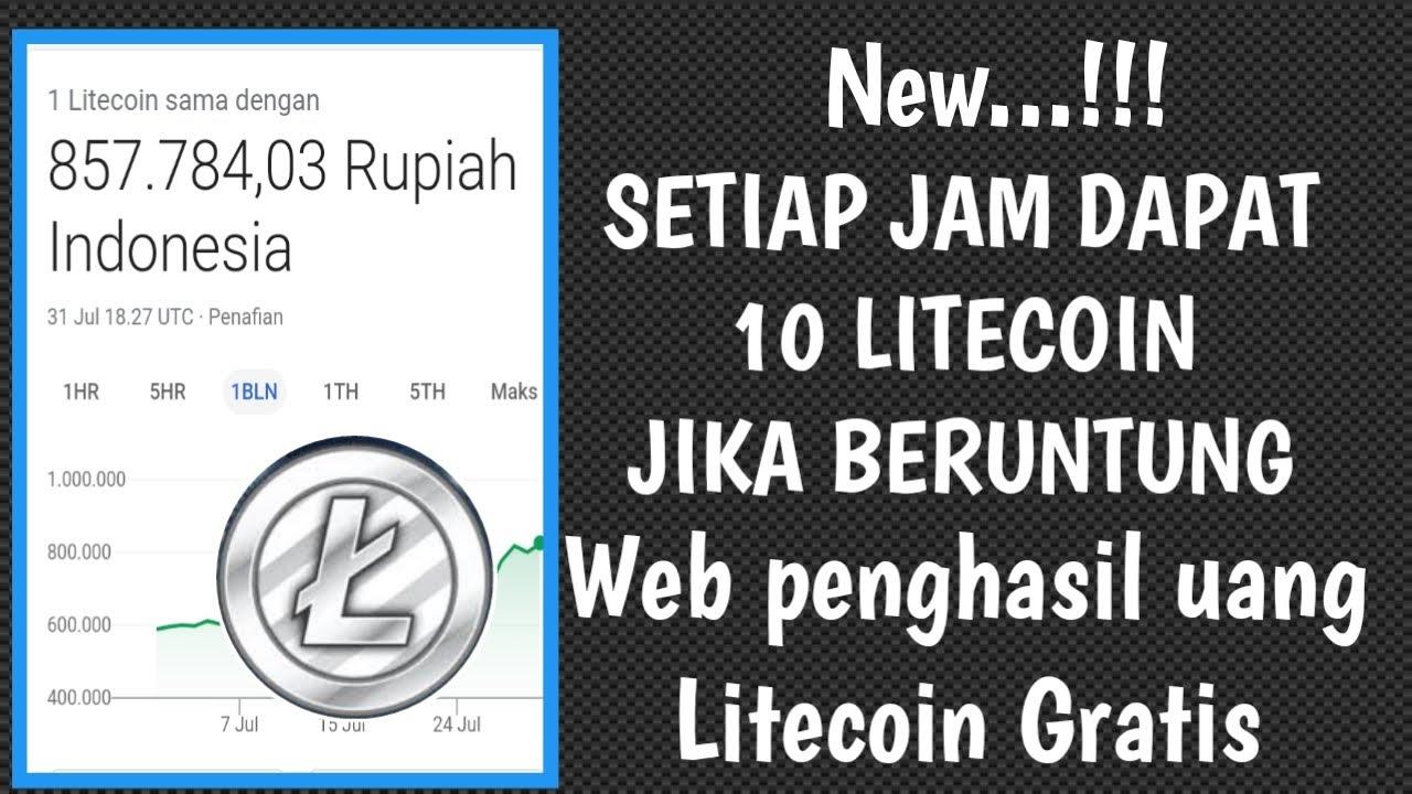 Website Penghasil Uang Gratis Terbaru | Free #Litecoin 2020 Langsung Withdraw ke #Indodax - #Binance