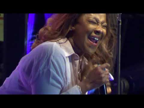 "Le'Andria Johnson-""Better Days"" singing at McDonald's Gospel Festivall"