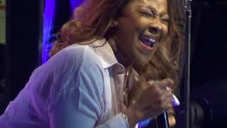 "Le'Andria Johnson-""Better Days"" singing at McDonald's Gospel Festivall"
