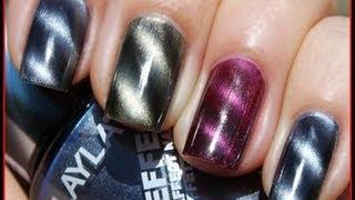 Tutorial: Uñas Magneticas - Magnetic Nail Art