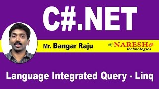 Language Integrated Query - Linq.