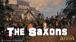 Total War: Attila Playable Factions - The Saxons!