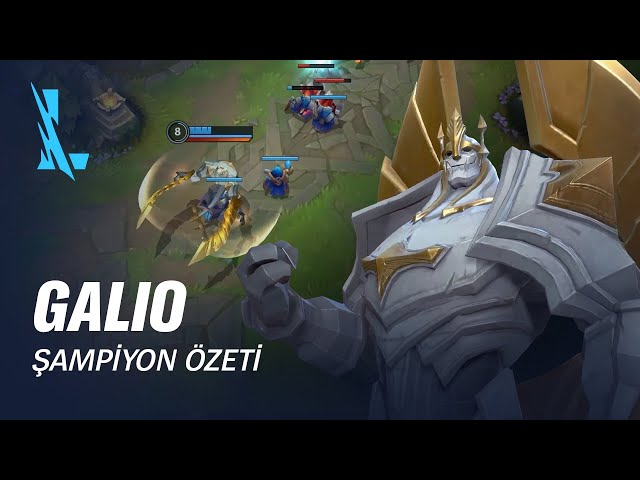 Galio Şampiyon Özeti | Oynanış - League of Legends: Wild Rift