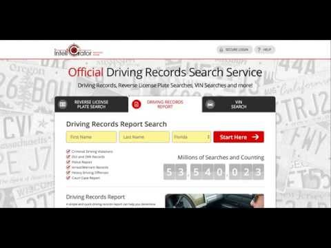 How To Get Your Florida Driving Record