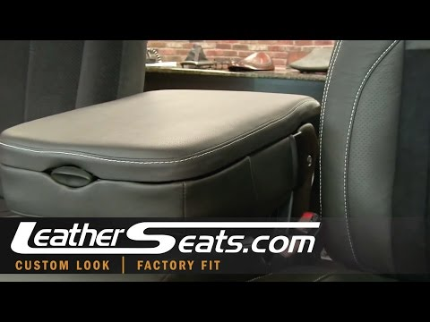 Dodge Ram Quad Cab Leather Center Console Interior Kit Installation Video - LeatherSeats.com