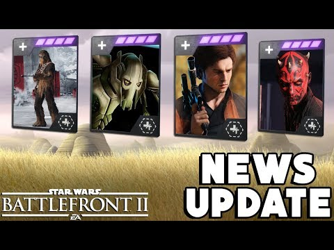 Star Wars Battlefront 2 - New Health Cards Coming for EVERY Hero?! WHAT thumbnail