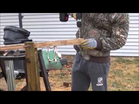 How to Make a Foot Powered Power hammer (Treadle Hammer/Seesaw)