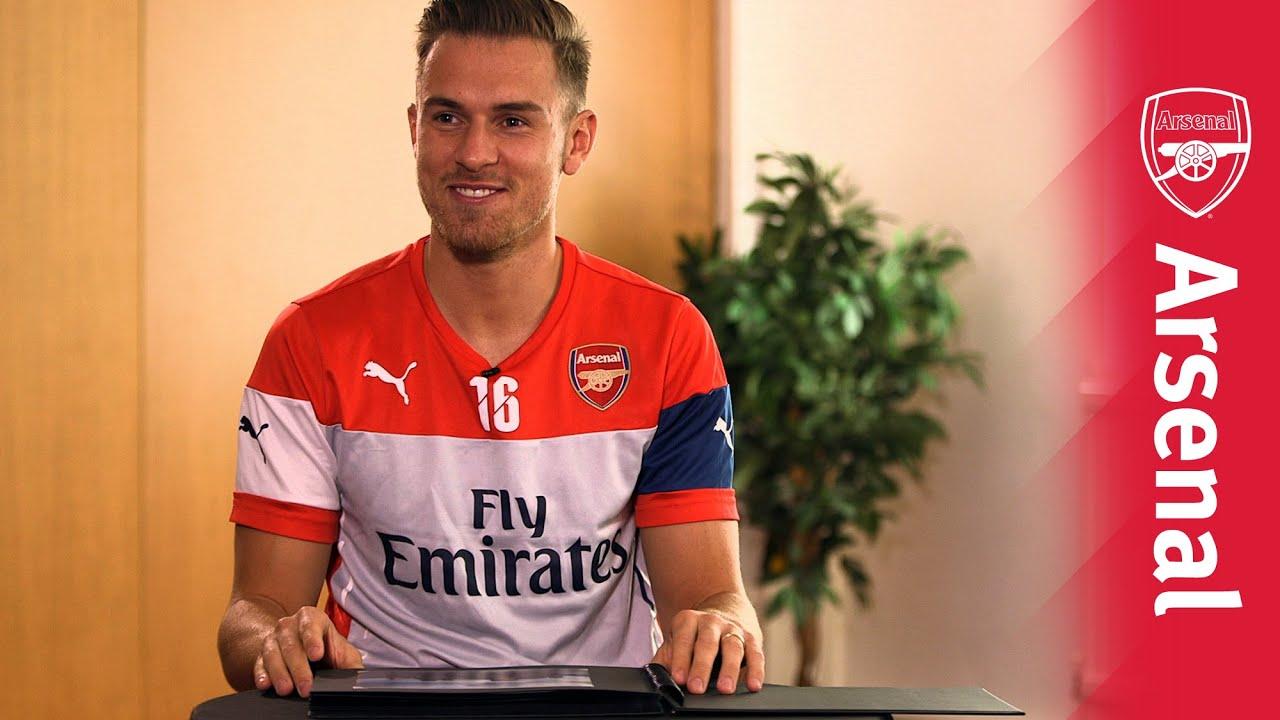 Aaron Ramsey: Aaron Ramsey: Arsenal Albums