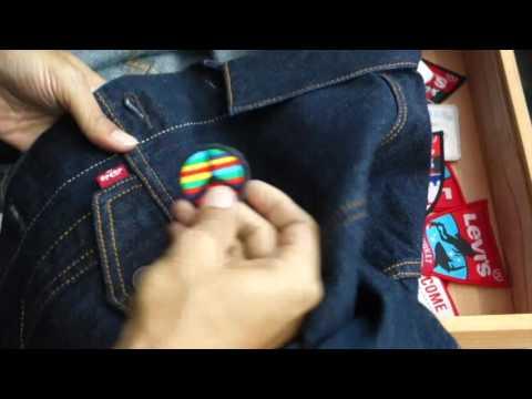 LIPS : Customized Trucker Jacket by Levi's