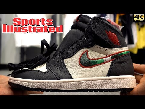 Sports Illustrated Air Jordan 1 Retro High OG A Star is Born in 4k HD