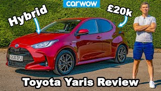 Toyota Yaris 2021 review - see how it's better than a Polo or Fiesta!