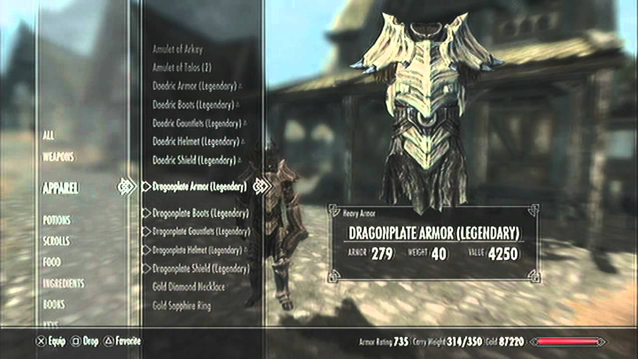 Skyrim Which Is Better Dragon Or Daedric Armor Youtube Some of the top best armor in the game, and the best weapons from the dawnguard dlc, all dragon themed. skyrim which is better dragon or daedric armor