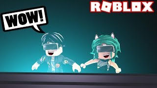 BABY LULY AND BABY DERANK PLAY IN VIRTUAL REALITY at ROBLOX😱