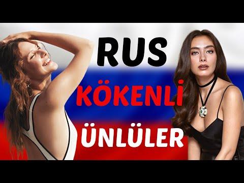 Rus Kökenli Ünlüler #NeslihanAtagül #AlinaBoz
