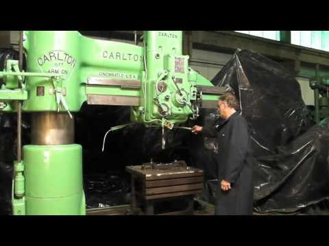 "19"" x 72"" Carlton Radial Drill at Industrial Machinery"