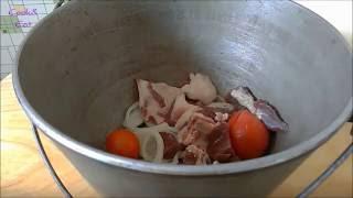 Буглама(Баранина с овощами) Азербайджанская кухня