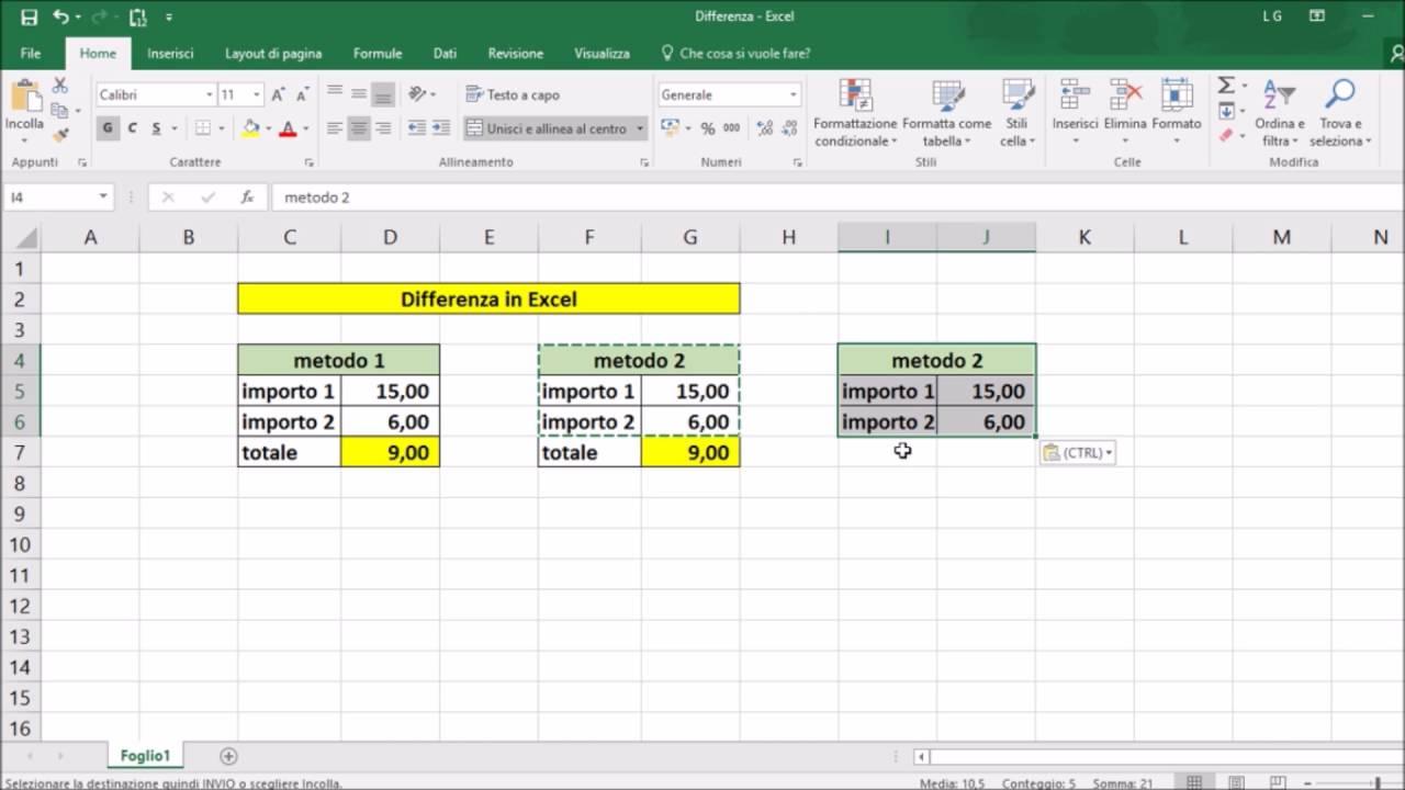 Come usare Excel formule | Salvatore Aranzulla