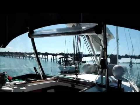 Sailing Island Escape - St Petersburg to Venice Florida - Part 2 - Emersom Point To Sarasota