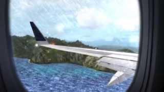 [FSX] Makai Virtual Airlines. Landing at Lihue Airport, Hawaii.
