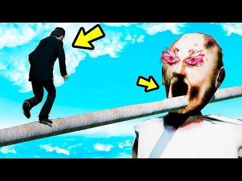 GRANNY ULTIMATE PARKOUR ANIMATRONIC COM AYUWOKI? | GTA V Five Nights at Freddy's thumbnail