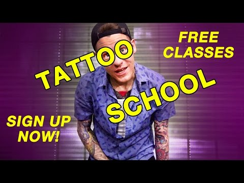 Tattooing for Beginners - Tattoo School Is In Session!