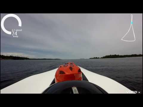 X-68 Gräddö offshore race 2017 Del 1