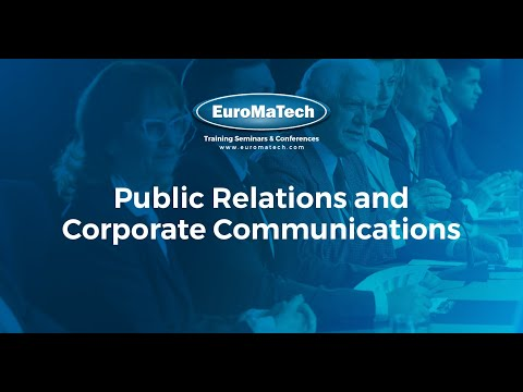 Public Relations And Corporate Communications