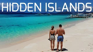 Bluest Waters in the World ! Philippines hidden Island Paradise
