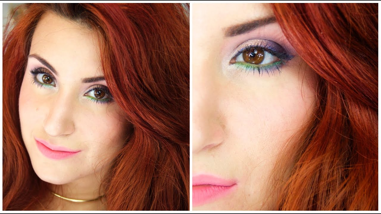 spring make up colors are back maquillage color printanier - Colori Maquillage