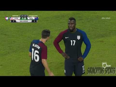 USA vs New Zealand All Goals & Highlights 10-11-2016