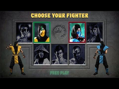 Mortal Kombat 1 HD Remake (Prototype Gameplay) (2019 FIXED DOWNLOAD LINK)
