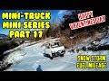 Mini Truck VALENTINE Road Legal fuel mileage drive in snow HiJet Comedy series (Part 17)
