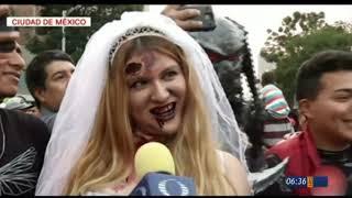 Se realizó la marcha zombie en la CDMX