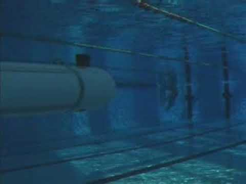 MARES AUV testing at local swimming pool
