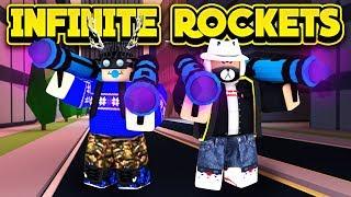 NEW INFINITE ROCKETS GLITCH! (ROBLOX Jailbreak)