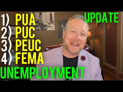 Unemployment 4 Federal Programs [PUA, PUC, PEUC & FEMA] In Additional to State Unemployment Benefits