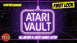 Atari Vault - First Look (PC - 1080p) All games listed