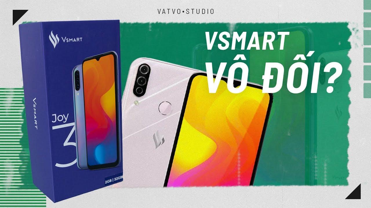 Vsmart Joy 3: vô đối điện thoại giá rẻ dưới 3tr