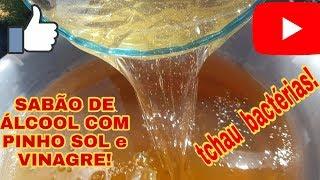 Sabão Liquido de Pinho Para Esterilização de Casa
